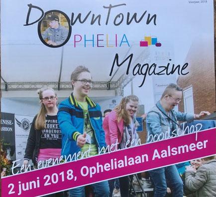 DownTown Ophelia heeft eigen magazine