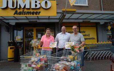 Rennen bij minuut gratis winkelen bij Jumbo Aalsmeer