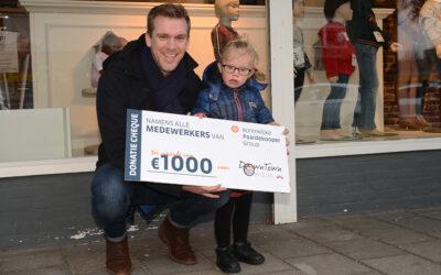 DownTown Ophelia ontvangt donatie van Paardekooper